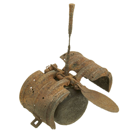 Original German WWII Inert Butterfly Bomb SD-2 Sprengbombe Dickwandig 2 kg - Battlefield Pickup Original Items