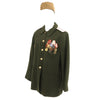 show larger image of product view 2 : Original Soviet Cold War Infantry Officer Uniform Parade Jacket with Medals and Cap Original Items