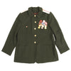 show larger image of product view 13 : Original Soviet Cold War Infantry Officer Uniform Parade Jacket with Medals and Cap Original Items