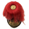 show larger image of product view 10 : Original German WWI Bavarian Artillery Officer Model 1860 Parade Pickelhaube with Red Plume Original Items