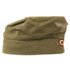 show larger image of product view 8 : Original German WWII Unissued DAK Afrikakorps EM-NCO M38 Overseas Cap with RBNr. - Size 55 Original Items