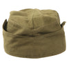 show larger image of product view 10 : Original German WWII Unissued DAK Afrikakorps EM-NCO M38 Overseas Cap with RBNr. - Size 55 Original Items