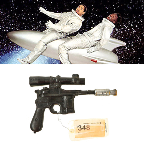 Original Rubber Film Prop C96 Laser Pistol From Ellis Props - As Used in Homeboys in Outer Space Original Items