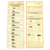 show larger image of product view 1 : Original German WWII Tank and Armored Vehicle Identification Charts - Soviet, American, British Original Items