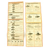 show larger image of product view 2 : Original German WWII Tank and Armored Vehicle Identification Charts - Soviet, American, British Original Items