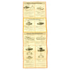 show larger image of product view 3 : Original German WWII Tank and Armored Vehicle Identification Charts - Soviet, American, British Original Items