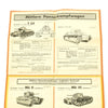 show larger image of product view 4 : Original German WWII Tank and Armored Vehicle Identification Charts - Soviet, American, British Original Items