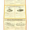 show larger image of product view 5 : Original German WWII Tank and Armored Vehicle Identification Charts - Soviet, American, British Original Items