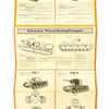 show larger image of product view 6 : Original German WWII Tank and Armored Vehicle Identification Charts - Soviet, American, British Original Items