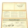 show larger image of product view 9 : Original German WWII Tank and Armored Vehicle Identification Charts - Soviet, American, British Original Items