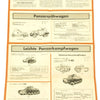 show larger image of product view 10 : Original German WWII Tank and Armored Vehicle Identification Charts - Soviet, American, British Original Items