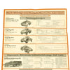 show larger image of product view 14 : Original German WWII Tank and Armored Vehicle Identification Charts - Soviet, American, British Original Items