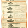 show larger image of product view 16 : Original German WWII Tank and Armored Vehicle Identification Charts - Soviet, American, British Original Items