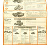 show larger image of product view 17 : Original German WWII Tank and Armored Vehicle Identification Charts - Soviet, American, British Original Items