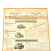show larger image of product view 19 : Original German WWII Tank and Armored Vehicle Identification Charts - Soviet, American, British Original Items
