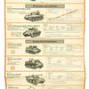 show larger image of product view 22 : Original German WWII Tank and Armored Vehicle Identification Charts - Soviet, American, British Original Items