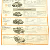 show larger image of product view 23 : Original German WWII Tank and Armored Vehicle Identification Charts - Soviet, American, British Original Items