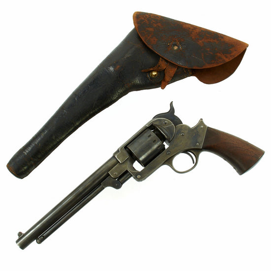 Original U.S. Civil War Starr Arms Co. Model 1863 .44cal Percussion Army Revolver with Holster -  Serial 39614