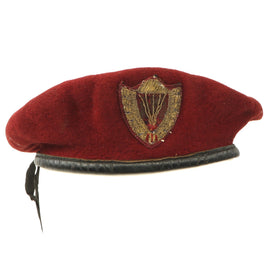 Original South Vietnamese Army of the Republic of Vietnam (ARVN) Airborne Beret - Size 55