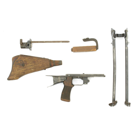 Original WWII Japanese Type 99 Light Machine Gun Partial Parts Set