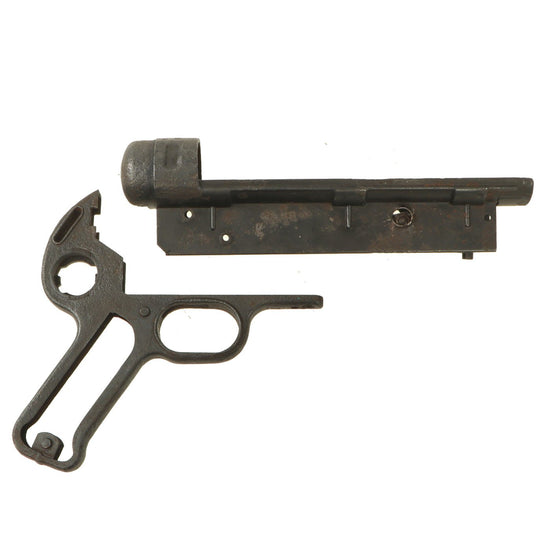 Original German WWII MP 40 Receiver Cup Frame by Steyr with Grip Frame - Maschinenpistole 40 Original Items