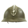 show larger image of product view 4 : Original WWII French M1926 Adrian Helmet without Badge - Olive Green Original Items