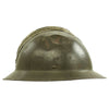 show larger image of product view 5 : Original WWII French M1926 Adrian Helmet without Badge - Olive Green Original Items