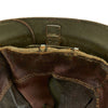 show larger image of product view 10 : Original WWII French M1926 Adrian Helmet without Badge - Olive Green Original Items