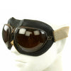 show larger image of product view 2 : Original German Luftwaffe Flight Goggles with Large Tinted Lenses Original Items