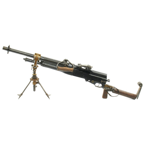 Original British WWI Hotchkiss Portative Display Light Machine Gun - Museum Grade Condition