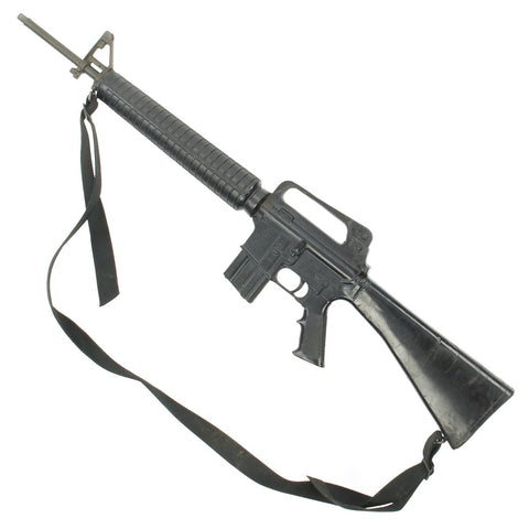 Original U.S. Colt M16A2 AR-15 Rubber Duck Molded Training Rifle with Sling
