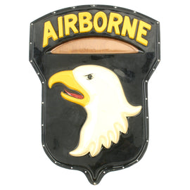 Original U.S. Vietnam War 101st Airborne Division Sign Plaque - 36 x 26