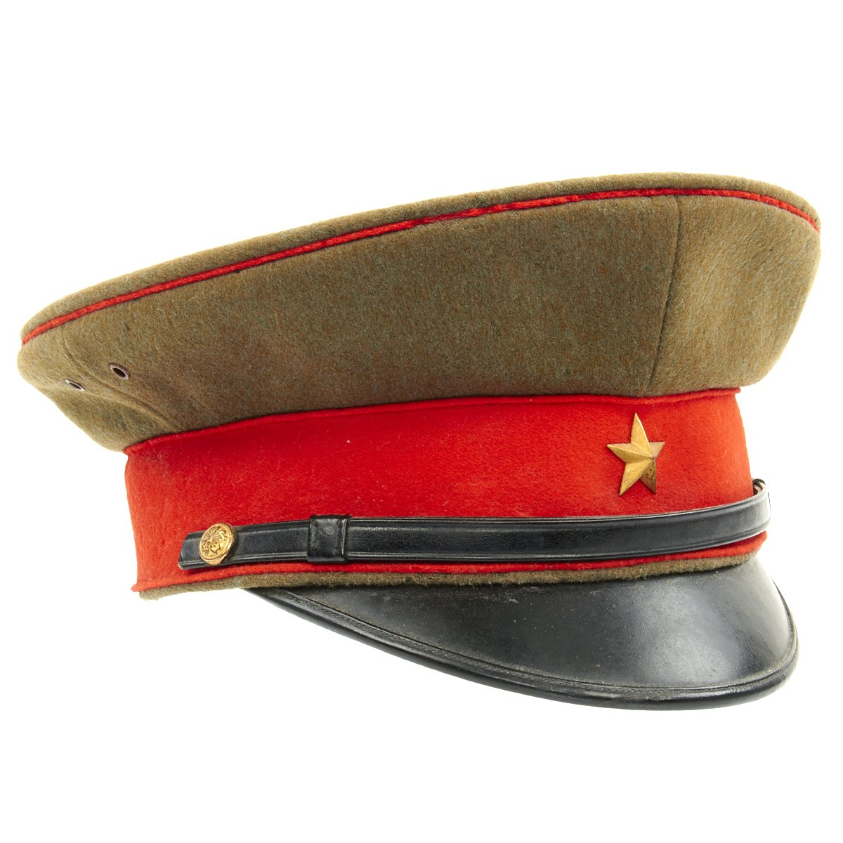 863f0d898 Original WWII Imperial Japanese Army Officer Visor Cap ...