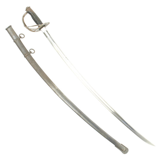 Original U.S. Model 1906 Cavalry Saber with Scabbard by Ames Sword Co. with Excellent Blade - Dated 1906