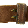 show larger image of product view 7 : Original U.S. WWII 1942-dated M1907 Pattern Leather Sling with Brass Fittings by BOYT Original Items