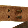 show larger image of product view 8 : Original U.S. WWII 1942-dated M1907 Pattern Leather Sling with Brass Fittings by BOYT Original Items