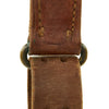 show larger image of product view 9 : Original U.S. WWII 1942-dated M1907 Pattern Leather Sling with Brass Fittings by BOYT Original Items