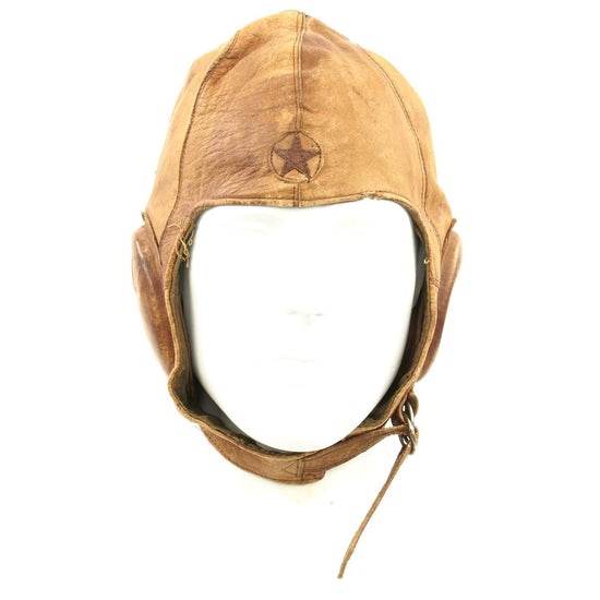 Original Japanese WWII Summer Flying Helmet