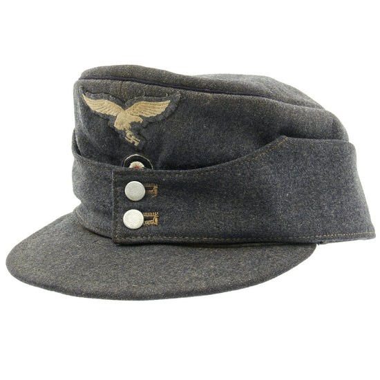 Original German Luftwaffe Engineer Corps M43 Einheitsmütze Wool Field Cap - Size 58