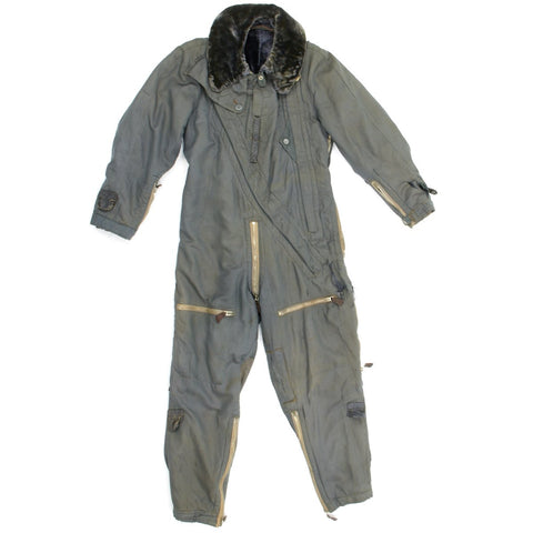 Original German WWII Luftwaffe Blue Winter Flying Suit by Karl Heisler Original Items