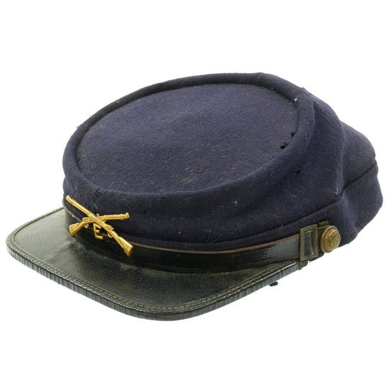 Original U.S. Army Indian Wars Infantry Chasseur Pattern Kepi