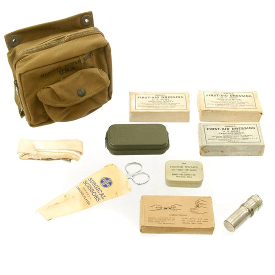 Original U.S. WWII Douglas C-47 Skytrain Aeronautic First Aid Kit