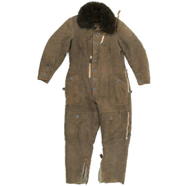 Original German WWII Luftwaffe KW 1/33 Protective Winter Flying Suit - Fliegerschutzanzug für Winter