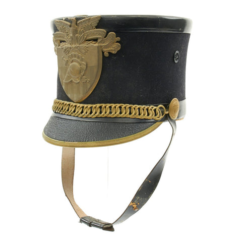 Original U.S. Military Academy West Point Shako Helmet - Circa 1915 Original Items