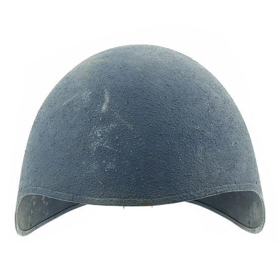 Original U.S. WWII Navy USN MK2 Talker Flak Gunners Helmet Original Items