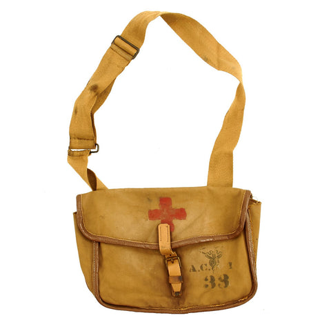Original U.S. Pre-WWI Field Medic Hospital Corps Pouch by Manhattan Supply Co. - dated 1903 Original Items