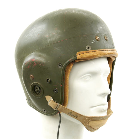 Original U.S. Korean War QM1C Tanker Helmet by Riddell Original Items