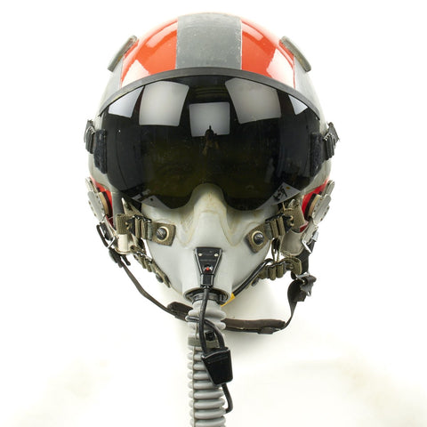 Original Cold War F-16 Fighting Falcon Pilot Helmet of the 475th Weapons Evaluation Group