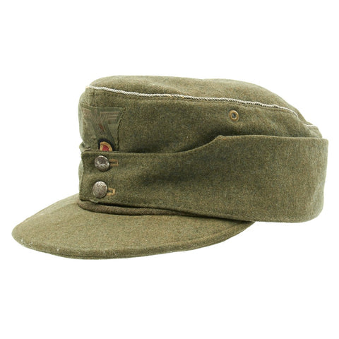 Original German WWII Army Officer M43 Field Cap Original Items