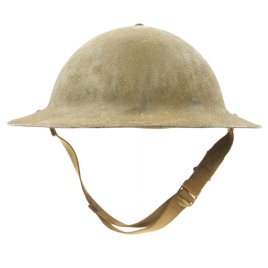 Original U.S. WWII M1917A1 Named Kelly Helmet - Pvt. William Scott